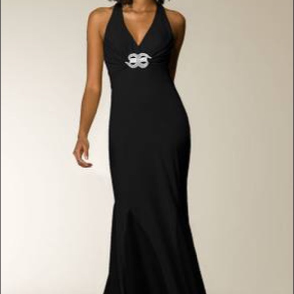 Cache Dresses | Black Evening Gown Size 6 Nwt | Poshmark